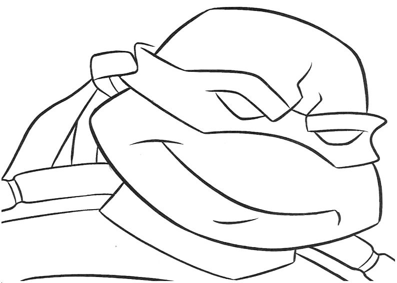 Krafty Kidz Center: Teenage Mutant Ninja Turtles Coloring Sheets ...