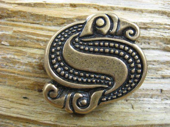 Viking era raven / eagle S pin   free shipping by torfin on Etsy, $28.00