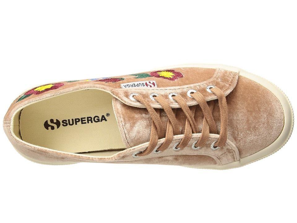 Superga 2750 - Embaivelvetw Women's Shoes Blush