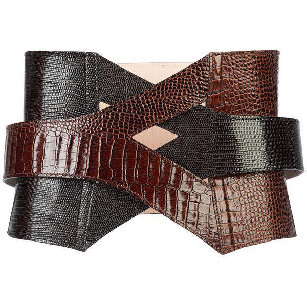 cb480537930 Balmain inter-woven corset-style belt (¥143