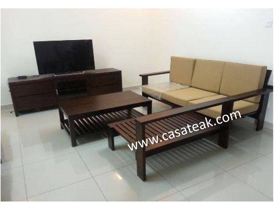 Teak Wood Sofa Sets Wooden Sofa Supplier Malaysia Living Sets Kl Wooden Sofa Set Living Room Sofa Design Sofa Set #teak #living #room #furniture