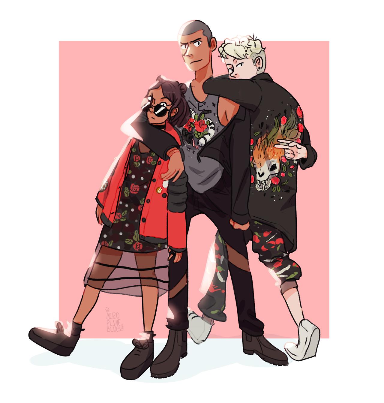 See You Space Cowboy, Summer Punk UM I love fashion