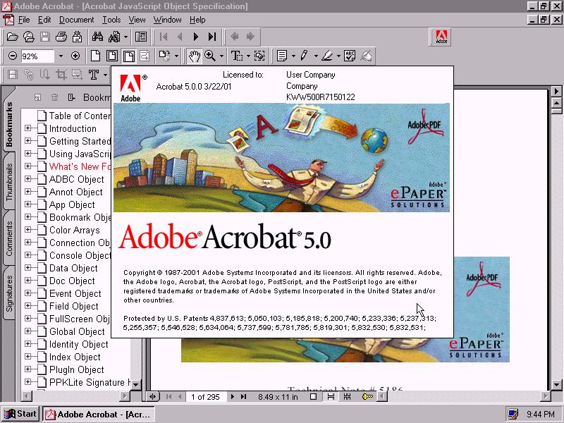 Adobe Acrobat 5 About Adobe acrobat, Adobe, Acrobatics