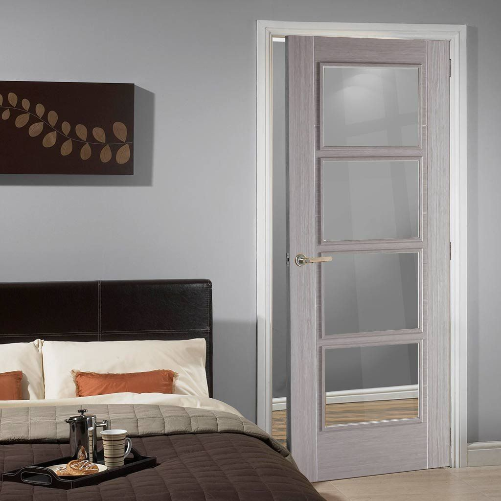 Light grey vancouver door is prefinished with clear safety glass light grey vancouver door is prefinished with clear safety glass glazeddoor greydoor planetlyrics Gallery