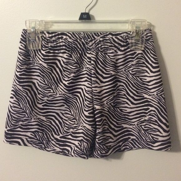 Zebra spandex shorts Great condition. Great for under sports shorts! Fit 2 win Shorts