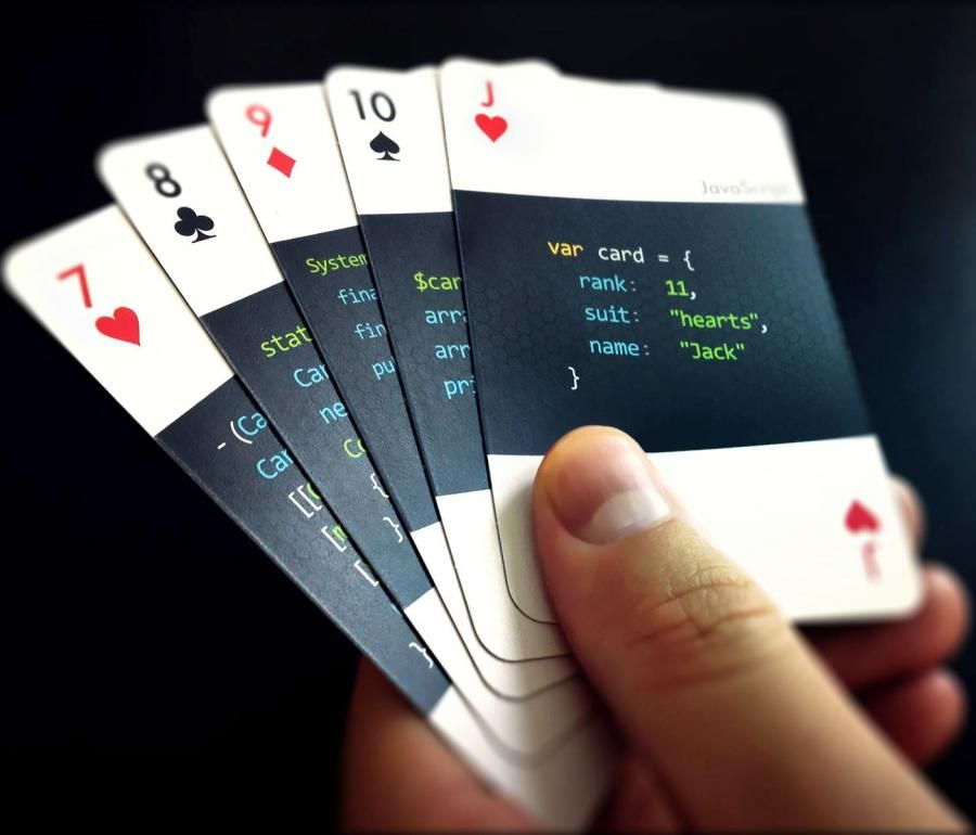Code Deck Are Playing Cards For Developers With Images Playing