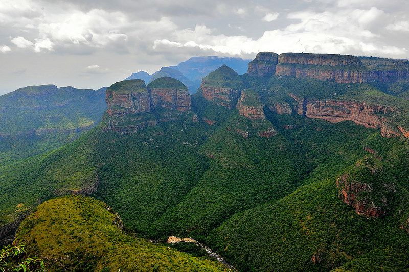 Blyde River Canyon, Mpumalanga, South Africa   by South African Tourism