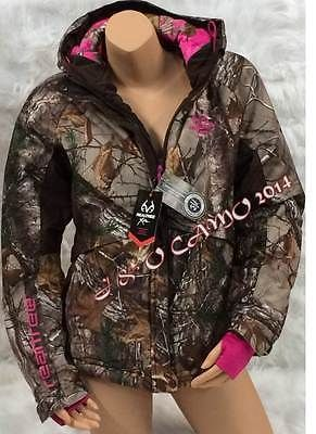 Pink and camo womens jacket