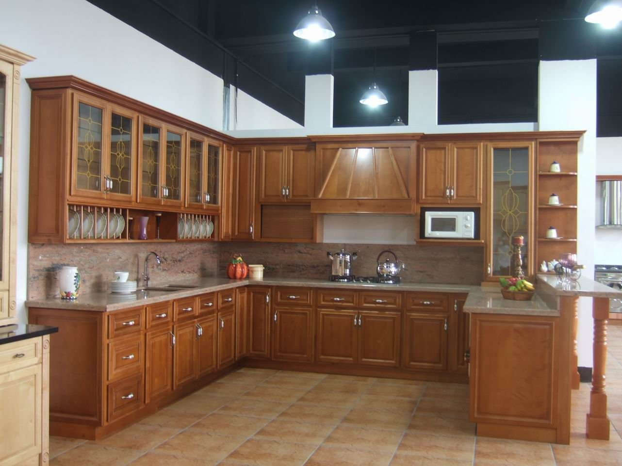 Solid American Cherry Wood Kitchen Cabinets Kitchen Furniture Design Wooden Kitchen Furniture Design Your Kitchen