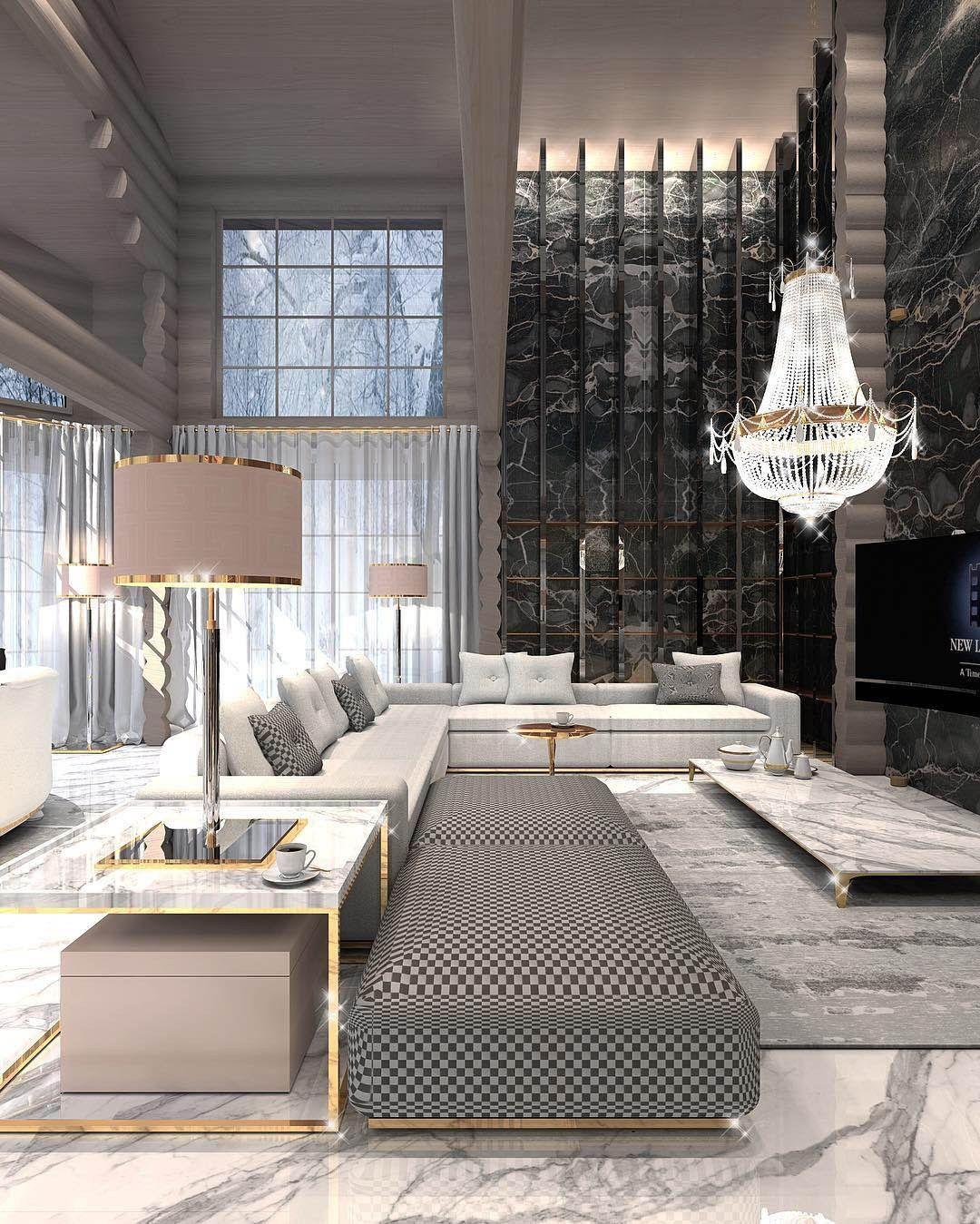 Constantine Frolov Interior Designer Luxury Living Room Luxury