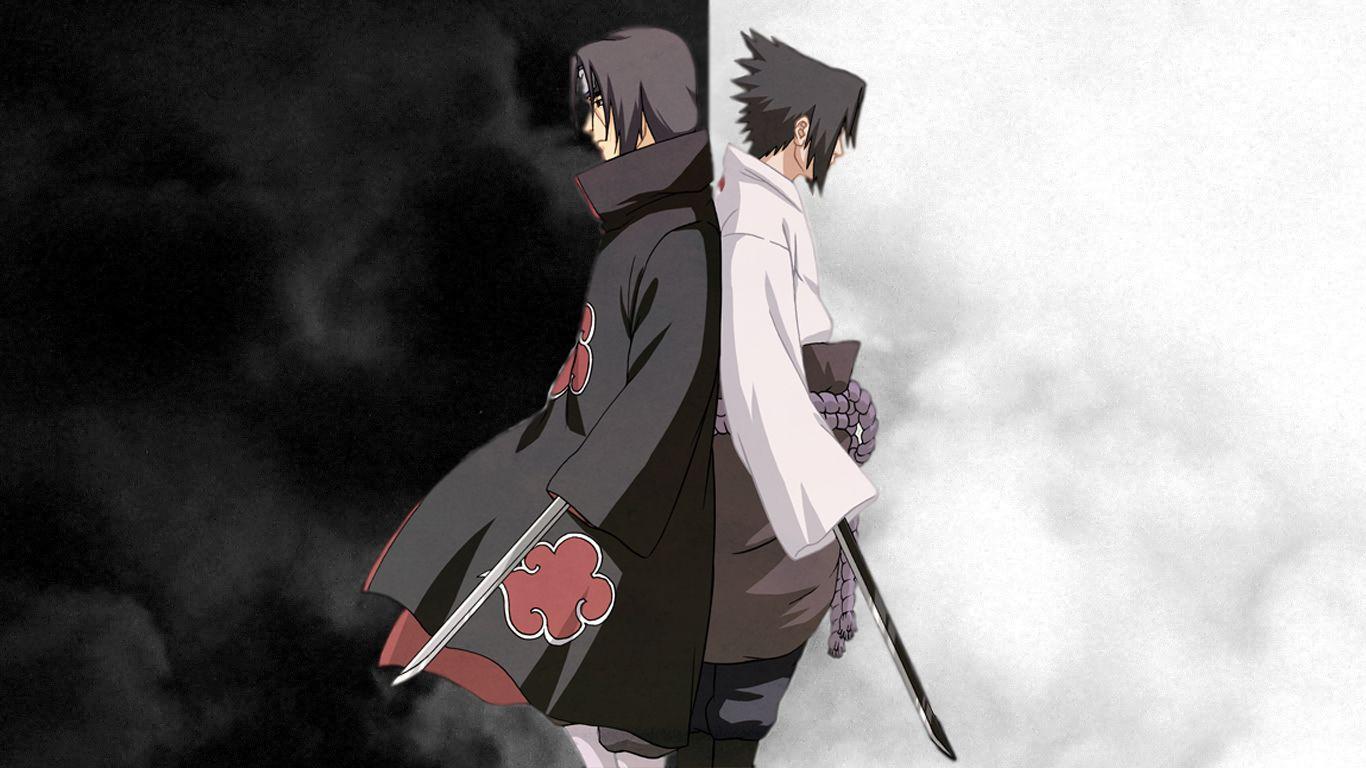 Akatsuki Naruto Shippuden Uchiha Itachi Uchiha Sasuke With