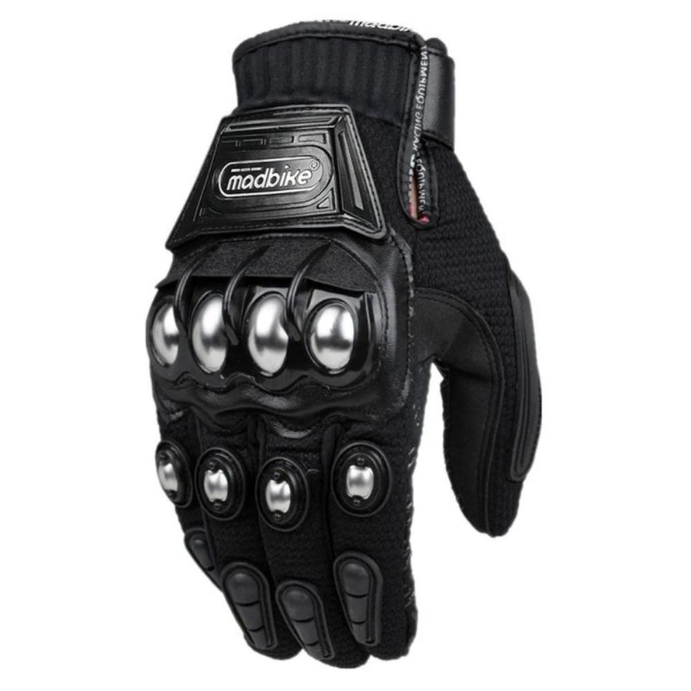 Madbike Men's Waterproof Motorcycle Gloves with Steel
