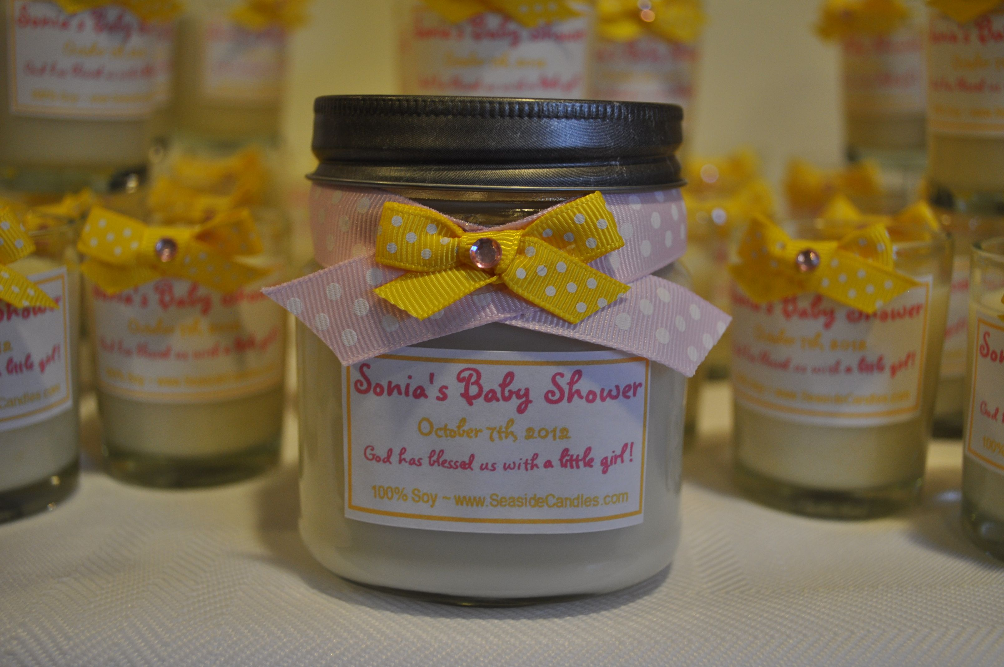 Mason Jars Baby Shower Favors Baby Shower Ideas