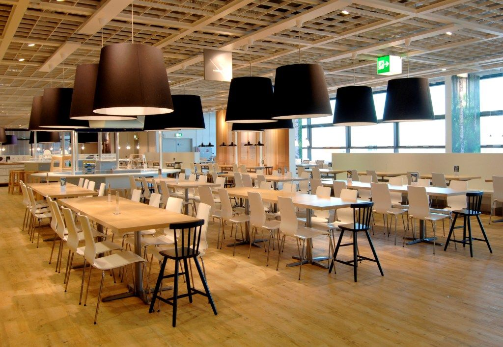 Scandi Style Ikea Restaurant With Expona Design Classic
