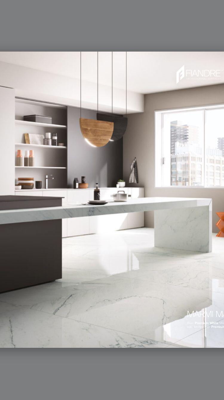 Cocina con piso de m rmol arquitectura pinterest for Disenos de pisos de loseta
