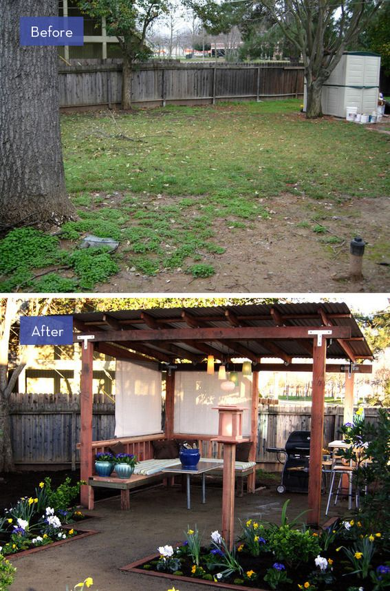 8 Amazing Backyard Makeovers that are Perfect for Entertaining #backyardmakeover
