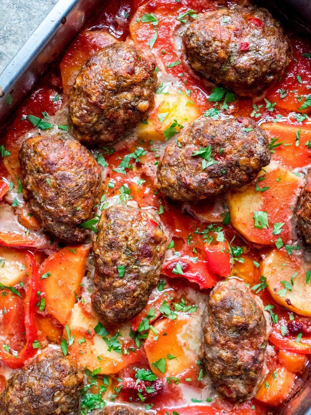 tyrkiske kjøttboller oppskrift
