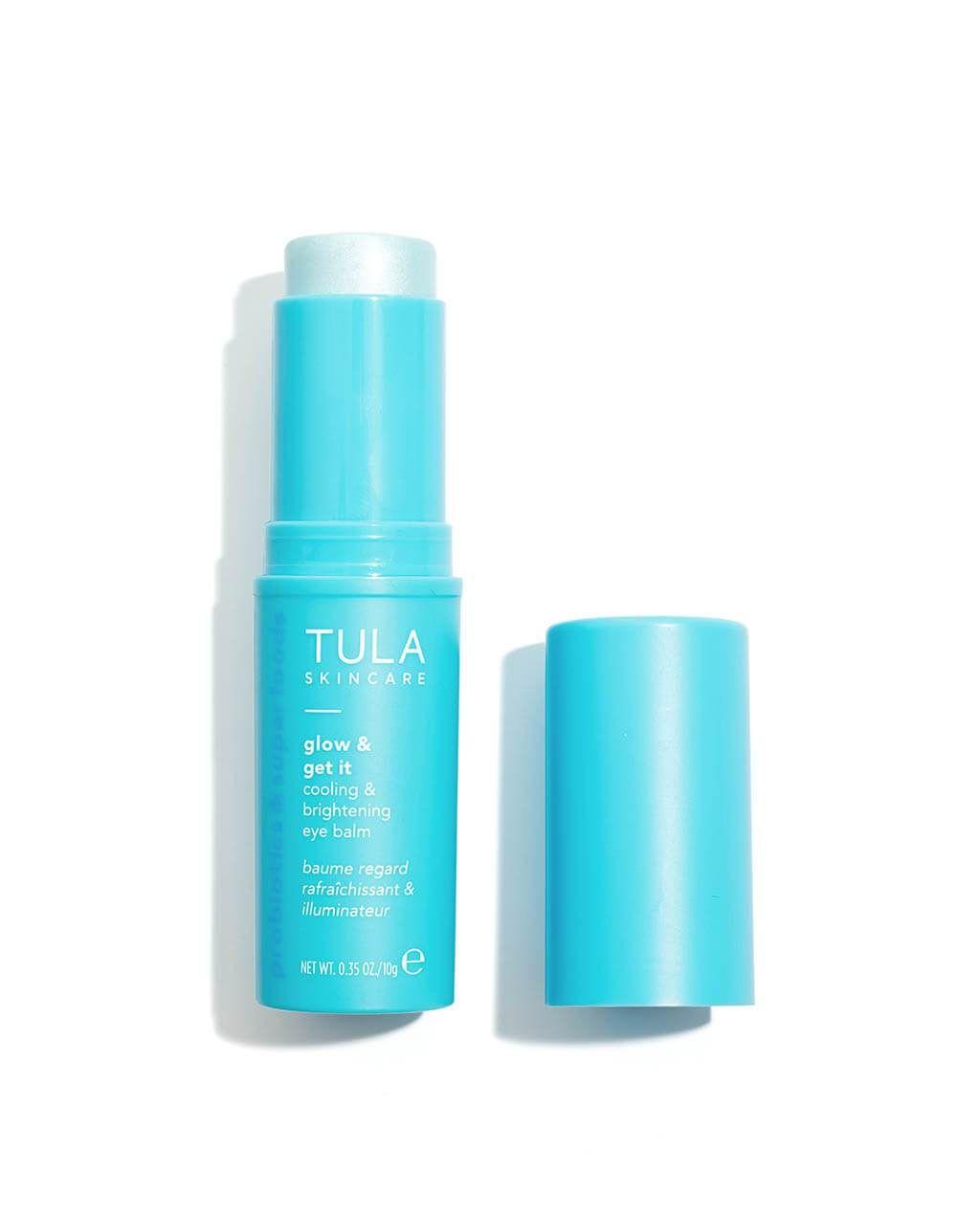 Cooling Brightening Eye Balm The Balm Tula Skincare Glowing