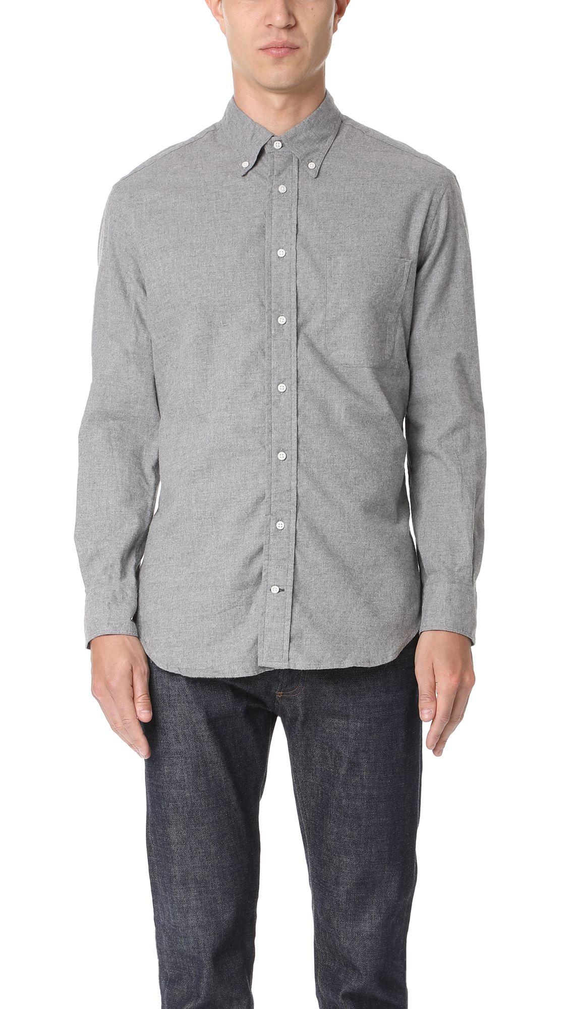 Flannel shirt vintage  GITMAN VINTAGE Long Sleeve Flannel Shirt gitmanvintage cloth