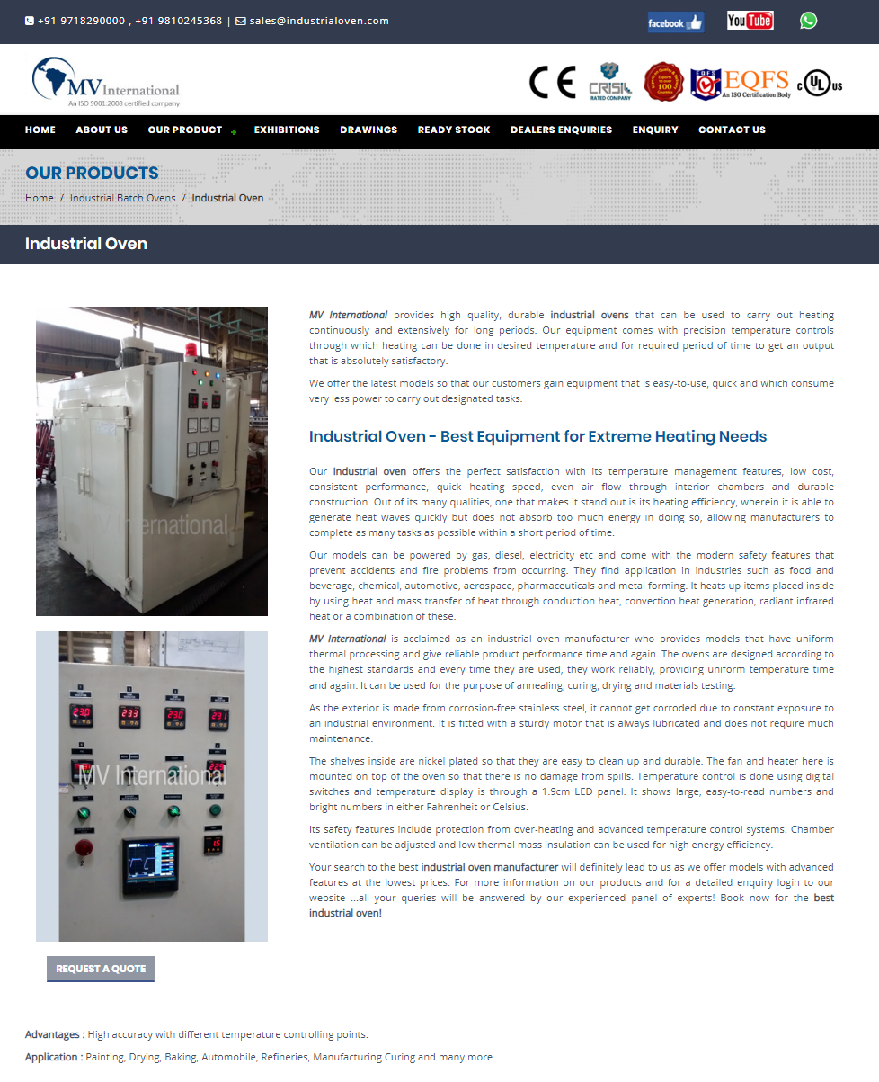 Industrial Oven Best Equipment For Extreme Heating Needs We Are