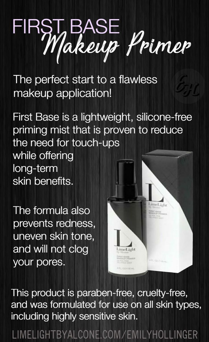 First Base is the KEY to longlasting makeup! Start here