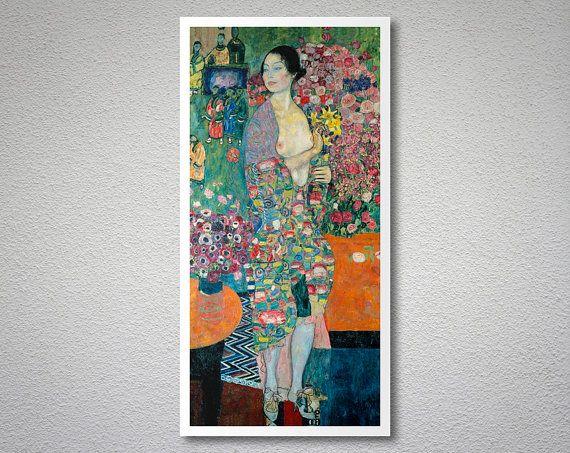 Gustav Klimt: The Dancer Poster   Neue Galerie Design Shop