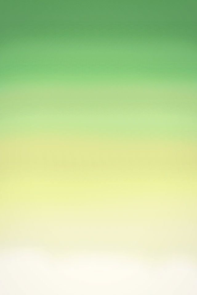 iPhone ombre wallpaper green and yellow
