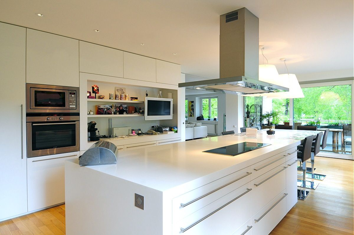Ilot central design recherche google kitchen cuisine for Google decoration cuisine