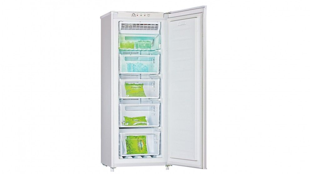 Hisense 177l White Vertical Frost Free Freezer Freezers Harvey