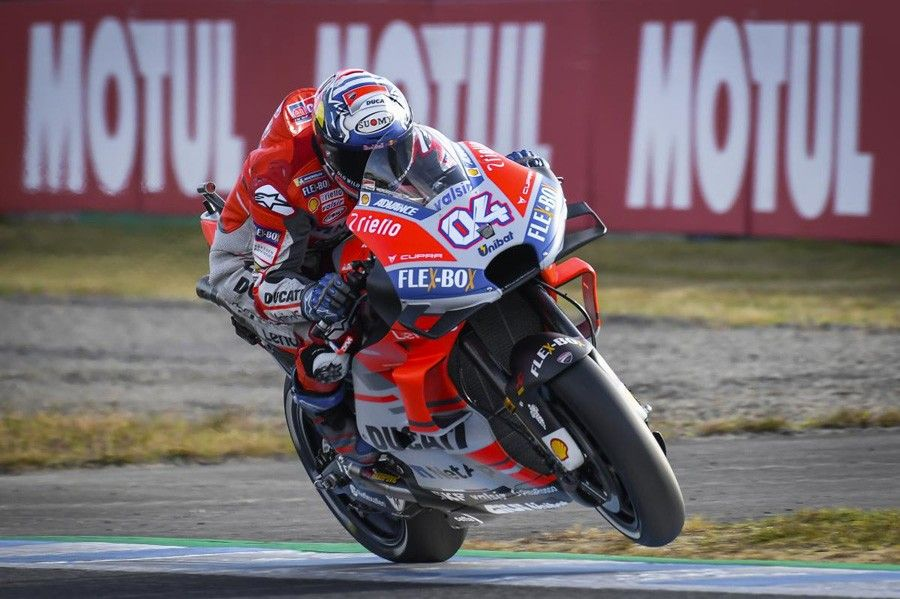 Motogp Japan Andrea Dovizioso Takes Pole Position At Twin Ring Motegi