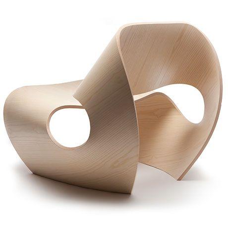 Cowrie Chair   Ash Wood Made In Ratio Furniture Pinterest   Design  Schaukelstuhl Beton Paulsberg