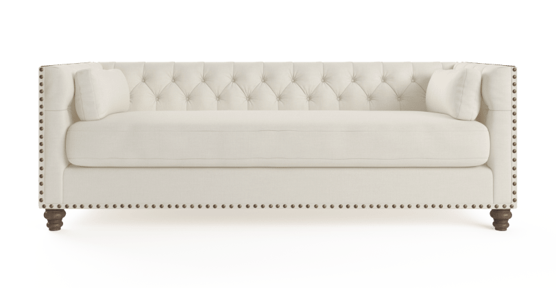 Buy Madeline Chesterfield 3 Seater Sofa Online In Australia Brosa Sofa 3 Seater Sofa Seater Sofa