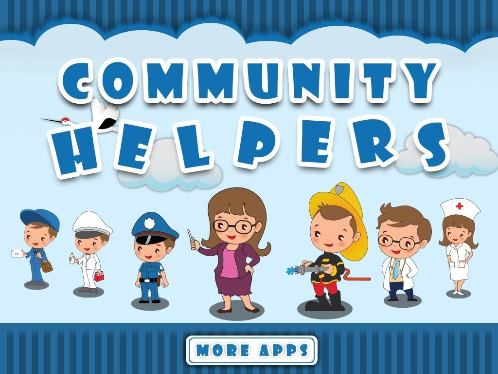 Community Helpers By Tinytapps L Community Helpers