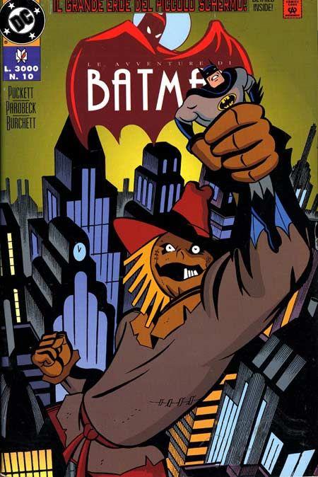 Le avventure di batman praticamente il fumetto del cartone