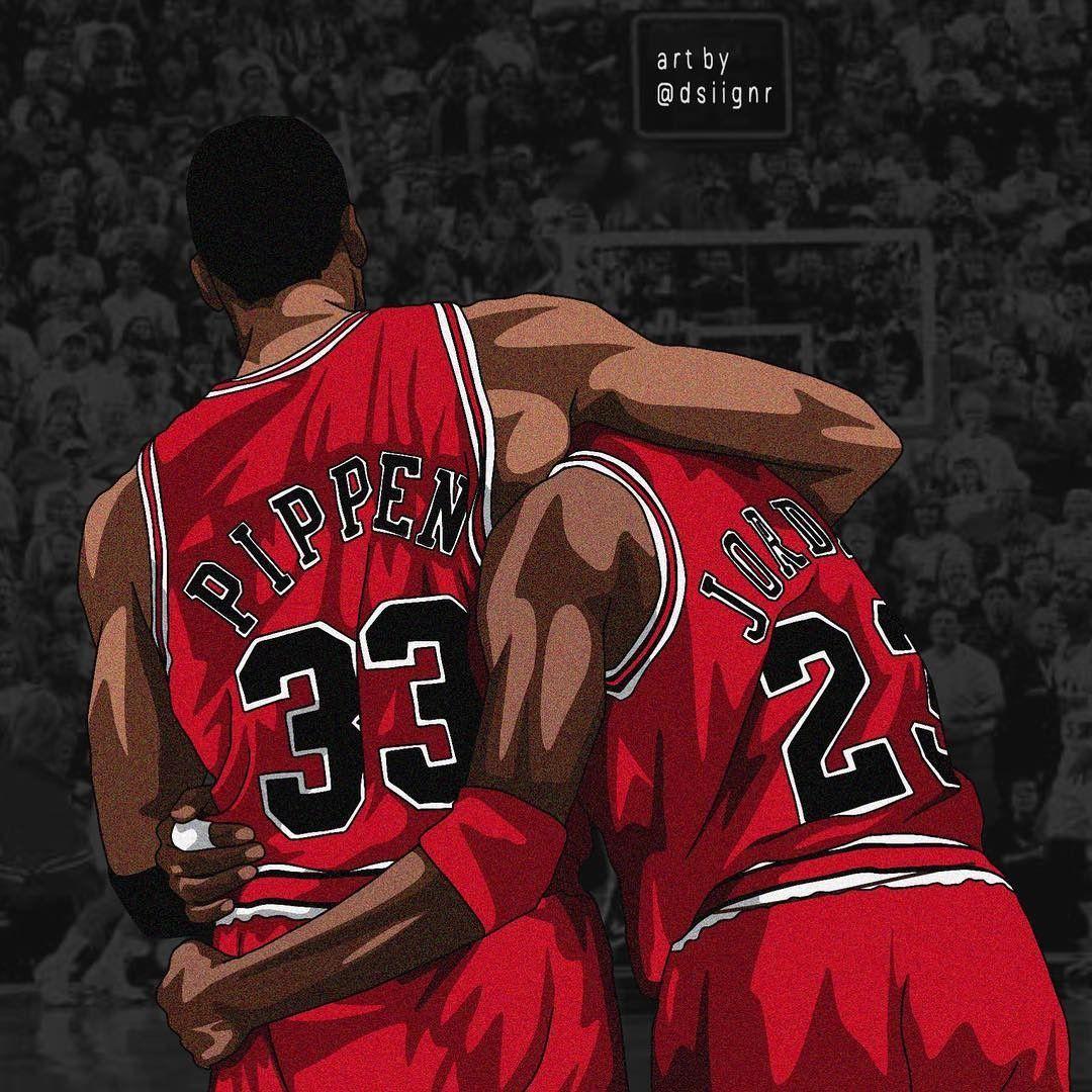 Pin by Jason Streets on NBA Scottie pippen, Fan art