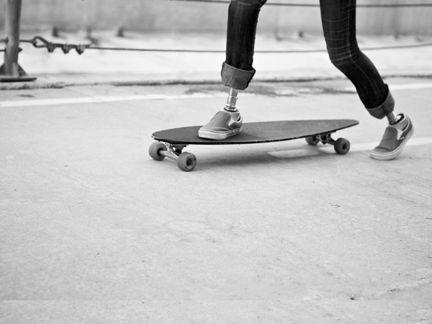 Determination Skate Girl Surf Bike Skate
