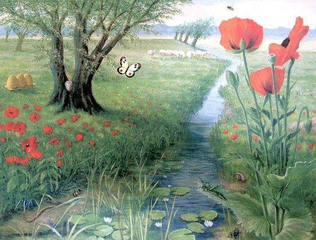 De Wollewei Uit Erik Of Het Kleine Insectenboek Spring