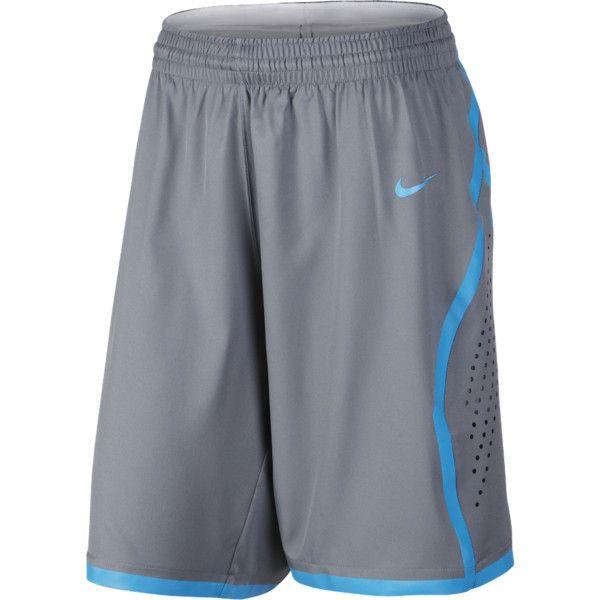 Nike Womens Basketball Shorts - Nike Elite Cool Grey/Wolf Grey X18c7002
