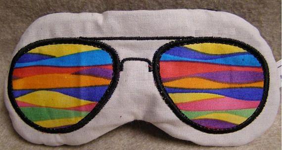 681c6589e Embroidered Eye Mask for Sleeping Cute Sleep Mask for Kids or