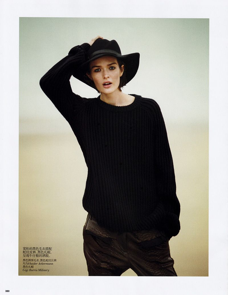 'Like a Boy' Sam Rollinson by Boo George for Vogue China November 2013