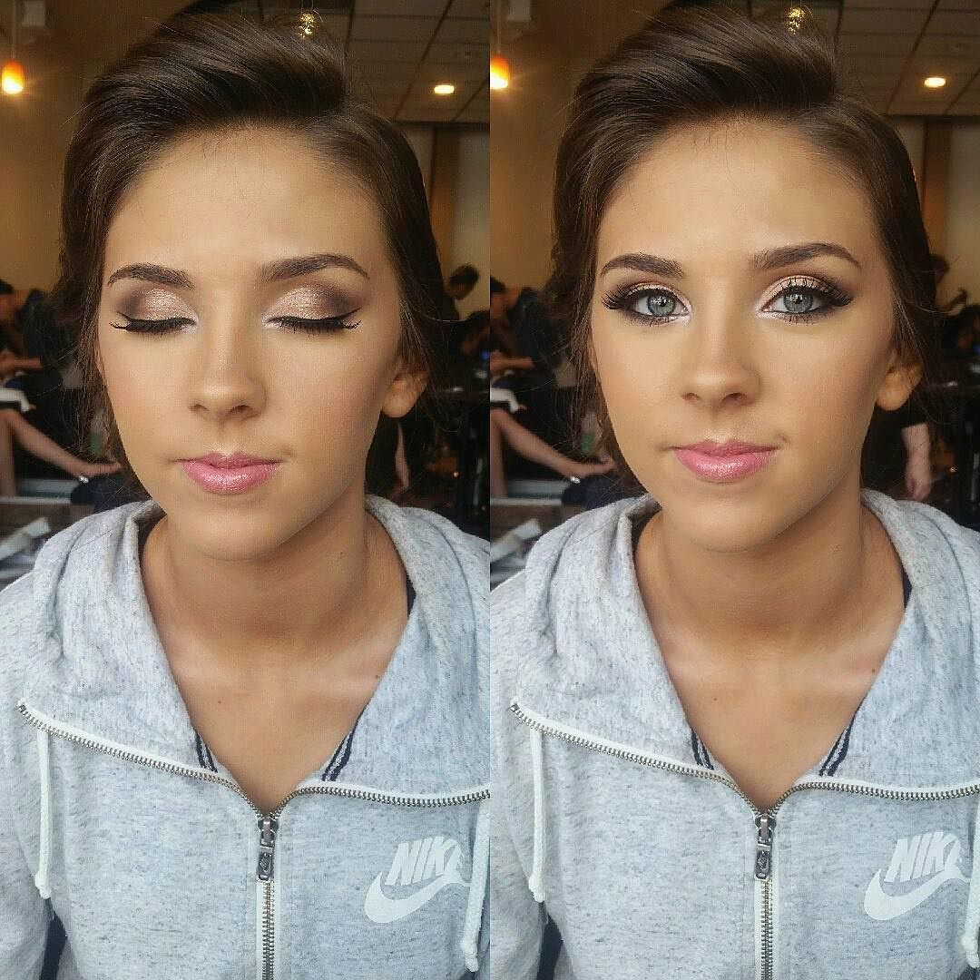 Sunday glam by this beauty! preetycure_mua wearing