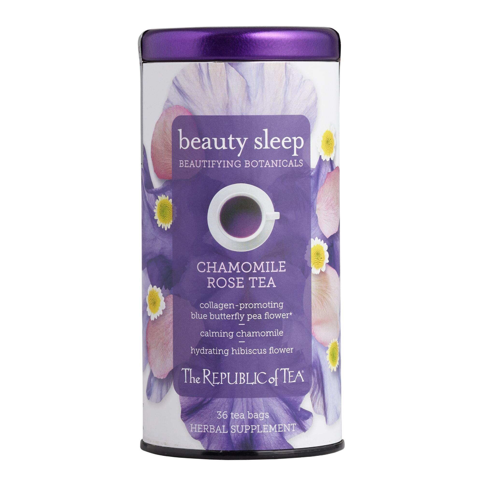 The Republic Of Tea Beauty Sleep Herbal Tea 36 Count By World Market The Republic Of Tea Sleep Tea Herbalism