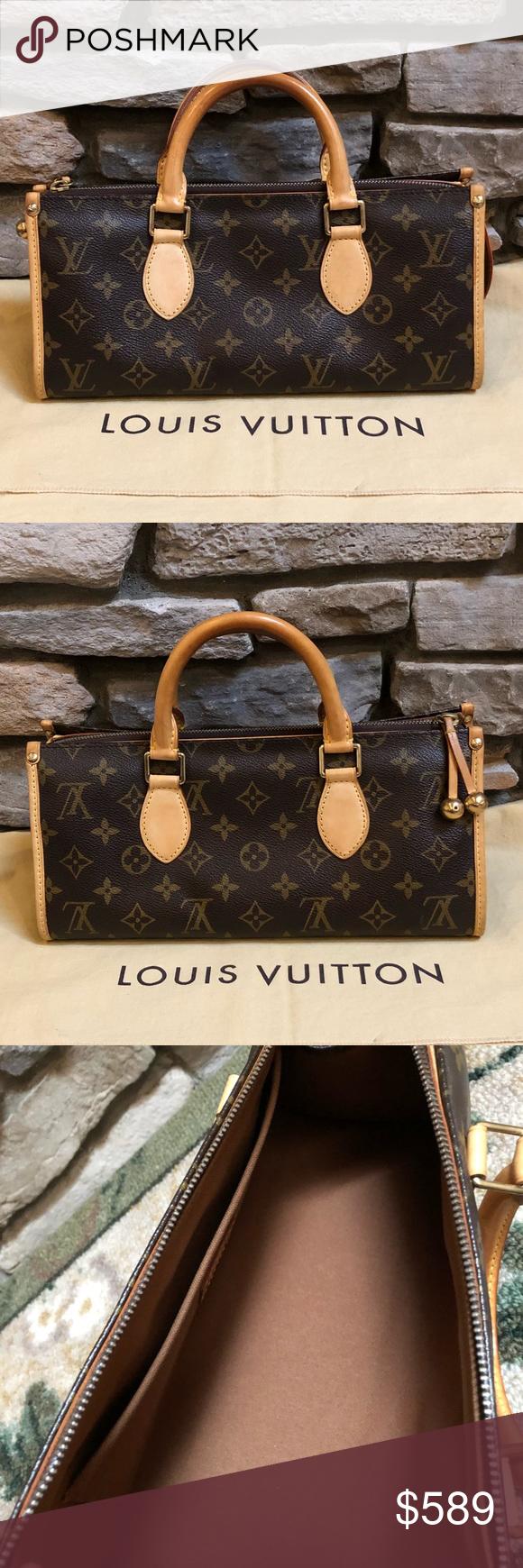 d3c4dd302d 💯Authentic Louis Vuitton Popincourt PM Preloved LOUIS VUITTON ...