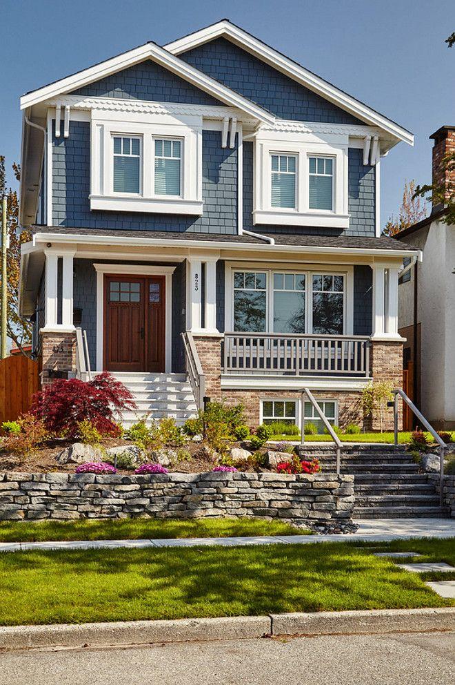 Exterior Paint Colors Blue exterior of homes designs | james hardie, exterior paint colors