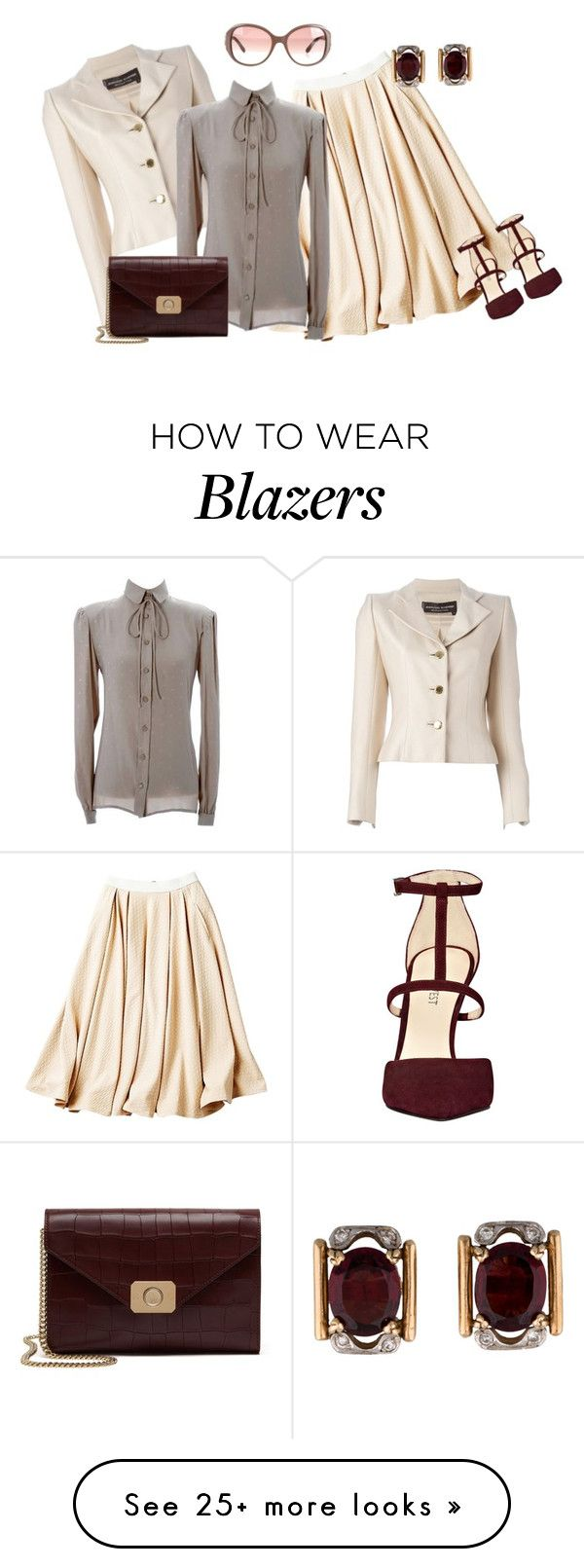 """""""outfit 2979"""" by natalyag on Polyvore featuring Torn by Ronny Kobo, Jean-Louis Scherrer, Valentino, Chloé, Mulberry and Nine West"""