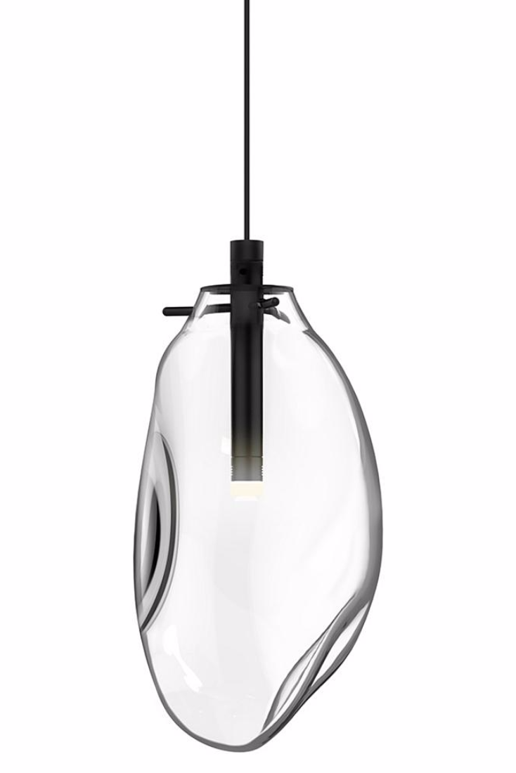 The Liquid LED Pendant By SONNEMAN Lighting Presents An Organic Form Of Glass Which Appears