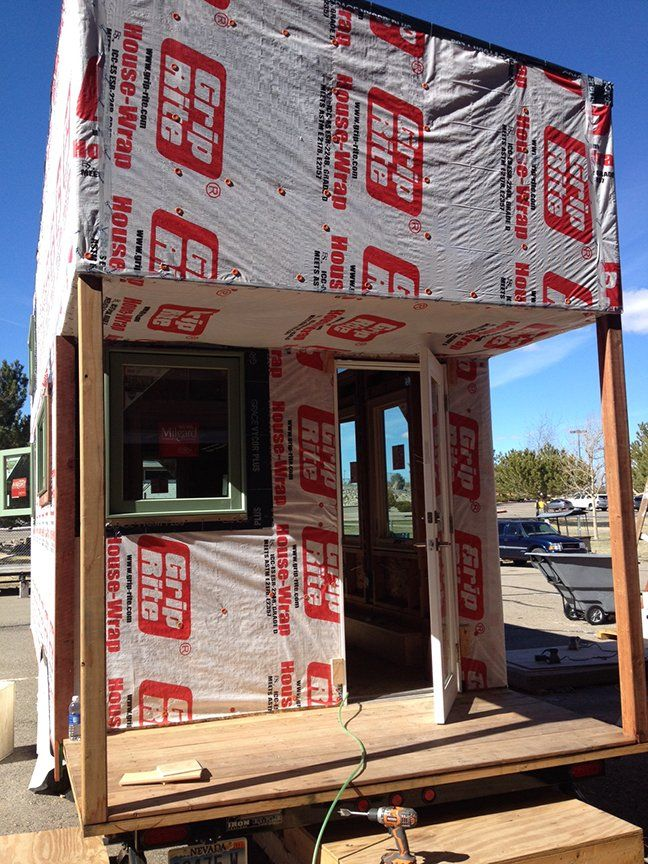 Mcmansion Of Tiny Houses Built By Woodshop Class Wood