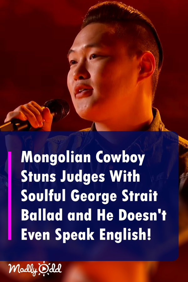 Mongolian Cowboy Stuns 'World's Best' Judges With Soulful George