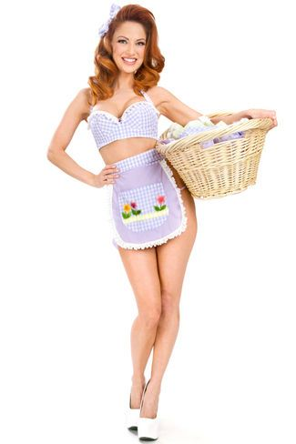 Adorable outfit from Trashy Lingerie  I would love to have Josh come home  and find 9e0428c7d