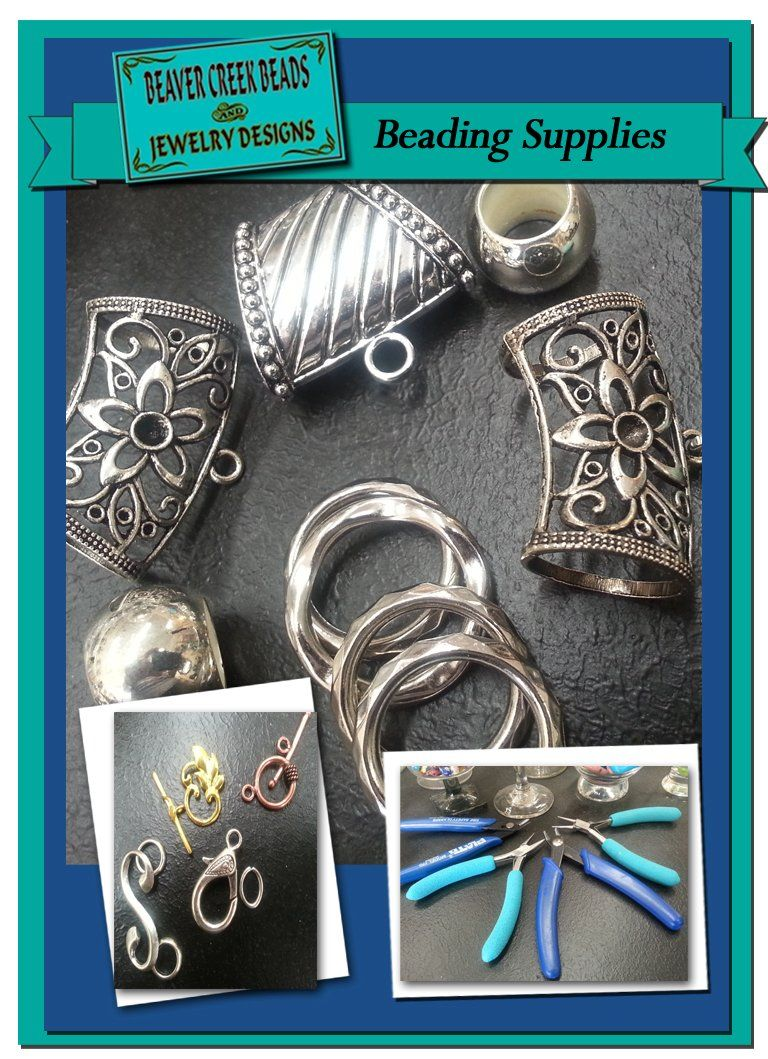 Beading Supplies for All Beaver Creek Beads Jewelry Designs